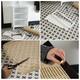 DIY Rattan Sideboard Steps