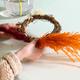 Easter floral hoop image 2