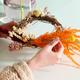 Easter floral hoop image 4