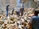Samir Mansour's destroyed bookshop