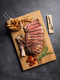 MEATER Plus cooked meat board