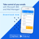 Mail Manager 365 Mobile app