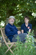 Bob Mortimer and Jane Howorth.