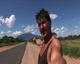 Spencer Conway on the road in Kenya