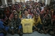 Mrs Minney of People Tree in Bangladesh