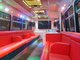 Upstairs inside bus