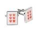 Cute heart cufflinks £12.99