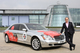 Theo Paphitis with his Chromamobile car