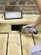 Add lights to your garden decking