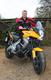 Darren Gough and his new Kawasaki Versys