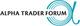 Alpha Trader Forum logo