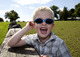 Protect children's eyes come sun or snow