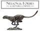 'Running Cheetah' bronze sculpture £210