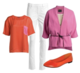 Ellos colour popping outfit for spring