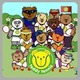 Teddy Tennis Sticker Book Icon