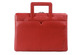 toffee leather brief for MacBook_red