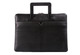toffee leather brief for MacBook_black