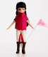 Pony Flag Race Lottie Doll