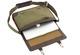 toffee messenger satchel - canvas khaki
