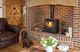 Cosy log fires for New Forest breaks