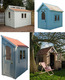 A range of Posh Sheds.