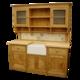 English Oak free-standing sink unit