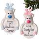 Baby Rudolph Reindeer Christmas Bauble