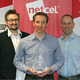 Netcel Directors with EPiServer Award