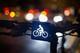 Brainy Bike Light - White front light