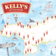 Kelly's Cornish ice cream parlour map