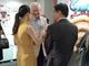 Dr Taylor, Eva Qian Li and Liu Jian