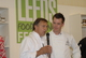 Tim Bilton with Raymond Blanc