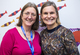 Laura Young and Dr Clarissa Pilkington
