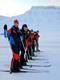 Ski training in Svalbard