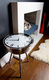 iconic retro clock table