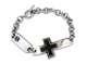 Stainless Steel Cross Medical ID
