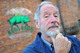 Patron Michael Buerk 'lets it grow'