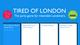 Tired of London Kickstarter graphics
