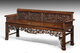 Mid 19th century Chinese hardwood sofa