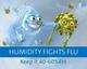 Air humidity of 40-60%RH combats flu