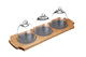 Master Class Artesa 3-Dome Serving Set
