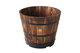 The VegTrug Wooden Barrel Planter