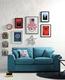 Superhero inspired living room